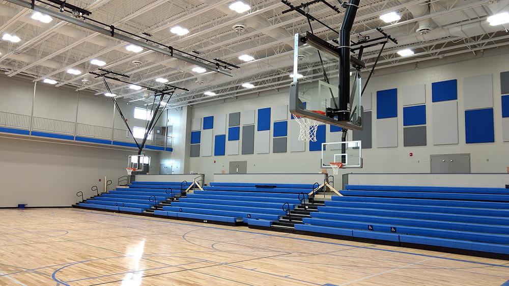 Bennington high school addition syncquip mechanical group
