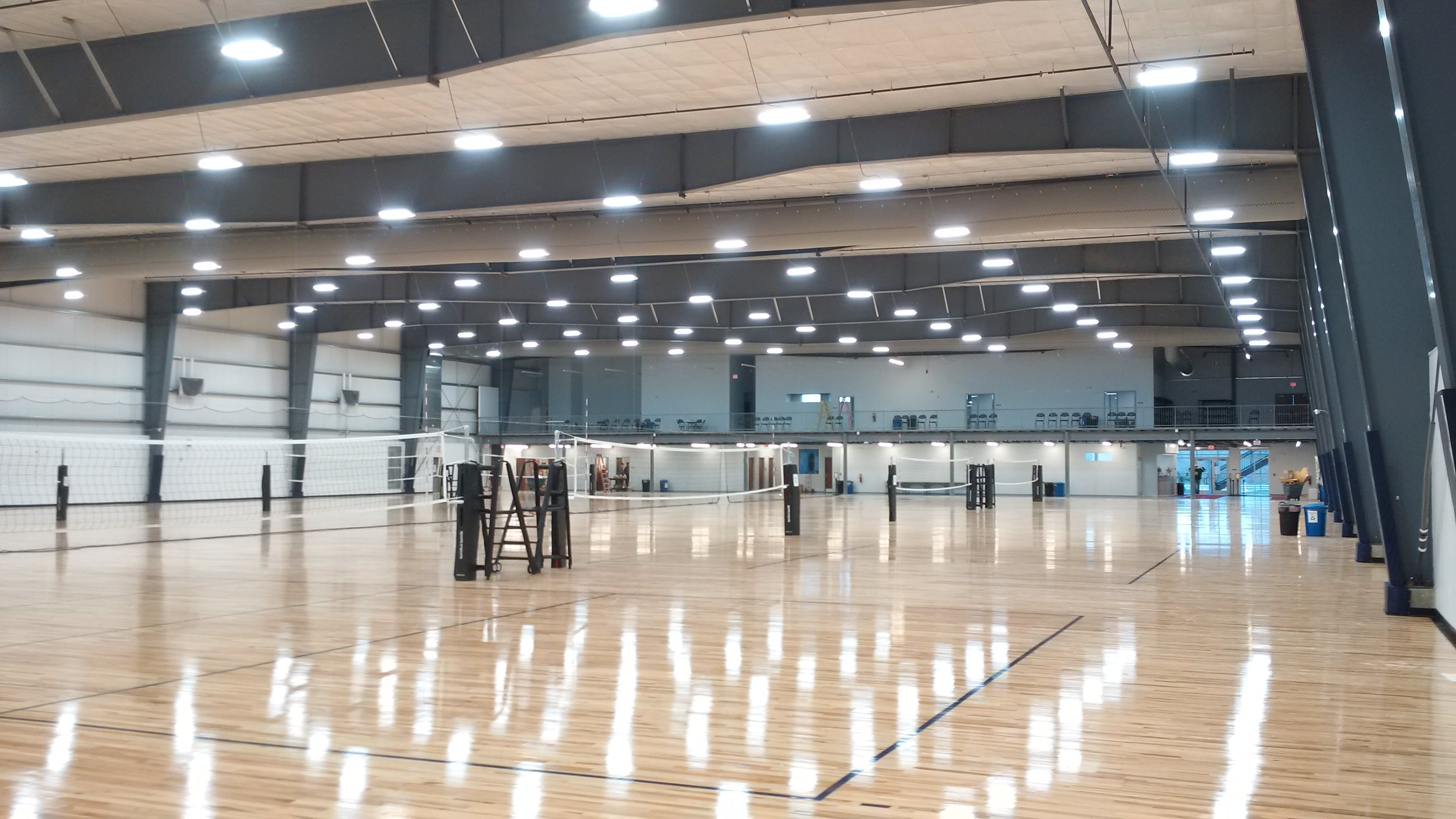 The Volleyball Accademy with Innotech Controls; installed and maintained by Syncquip Mechanical Group's building energy division