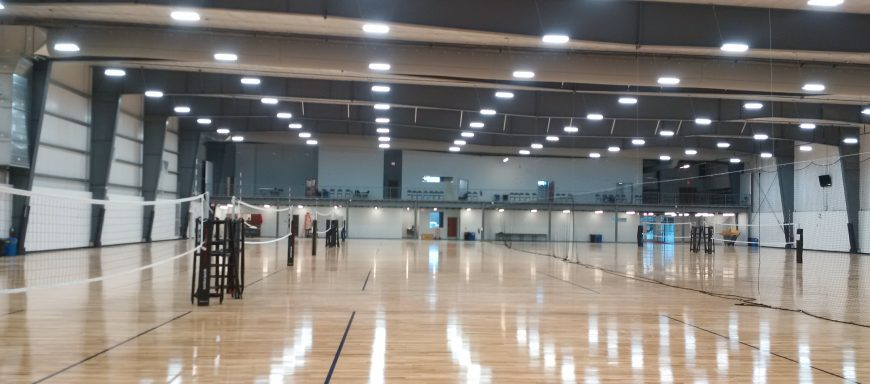 The volleyball academy of Omaha - heating and air conditioning project
