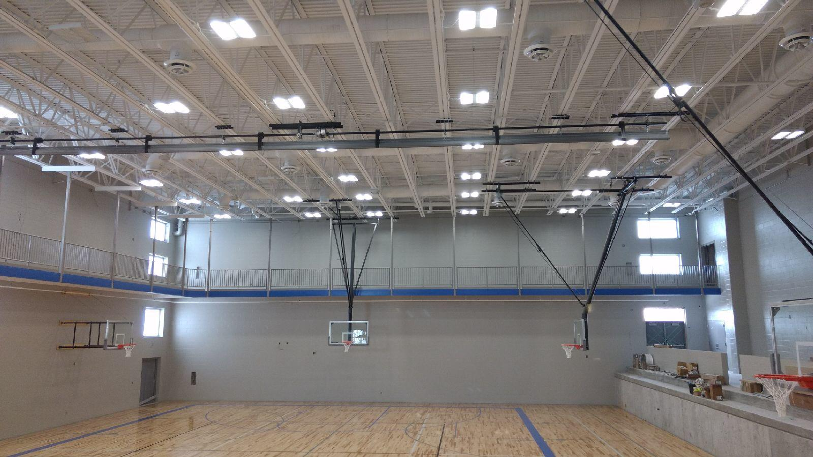 Bennington High school addition including Trane Building Automation System and Alliance Custom Air Handlers