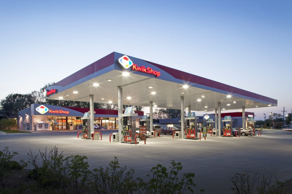 kwik shop gas station hvac project