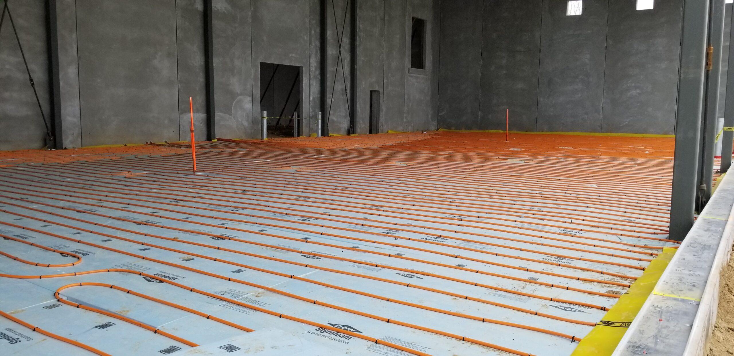 Quin Global New Construction In-floor heating