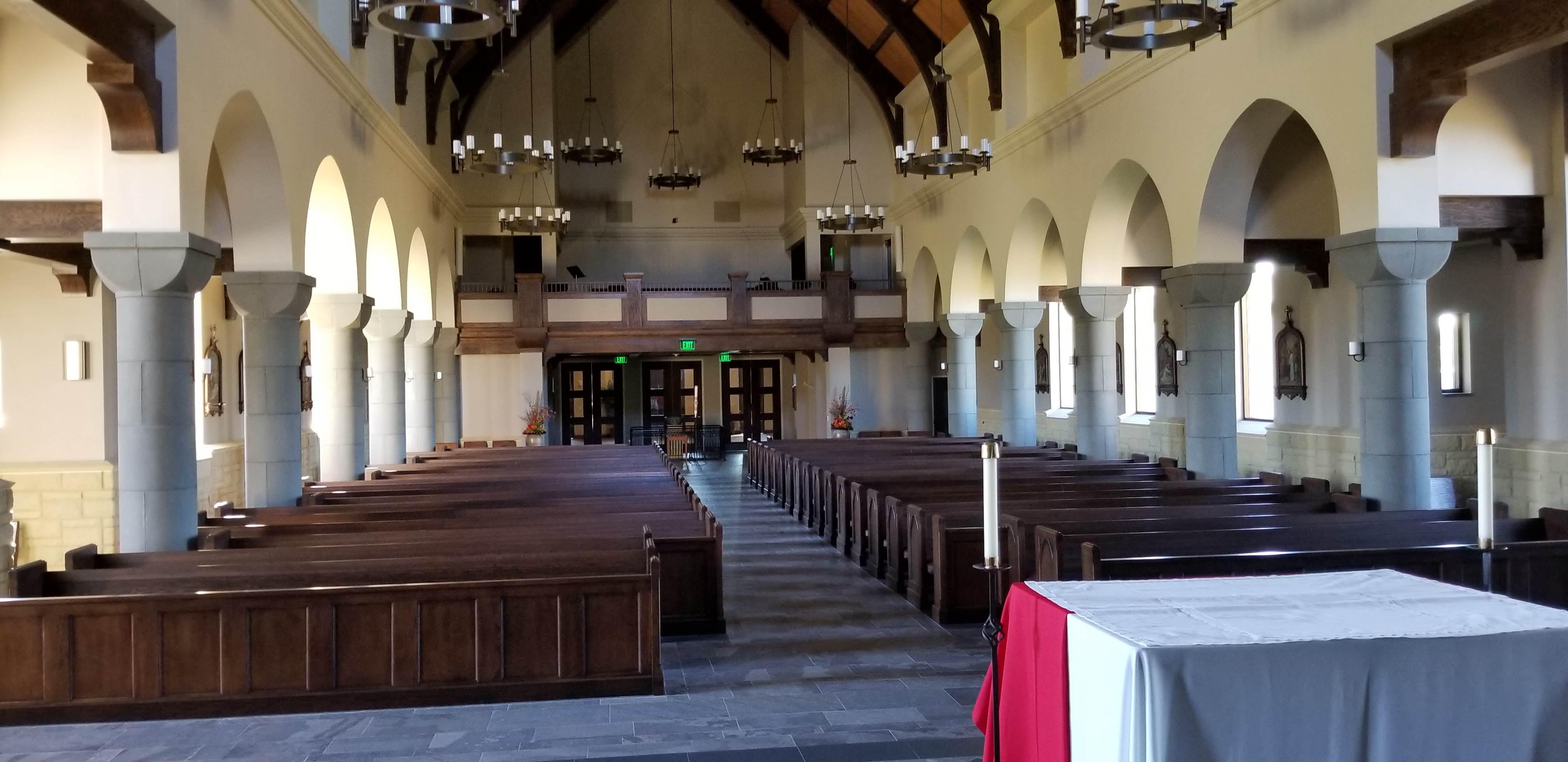 St. Patrick's Catholic Church in Council Bluffs - church HVAC project