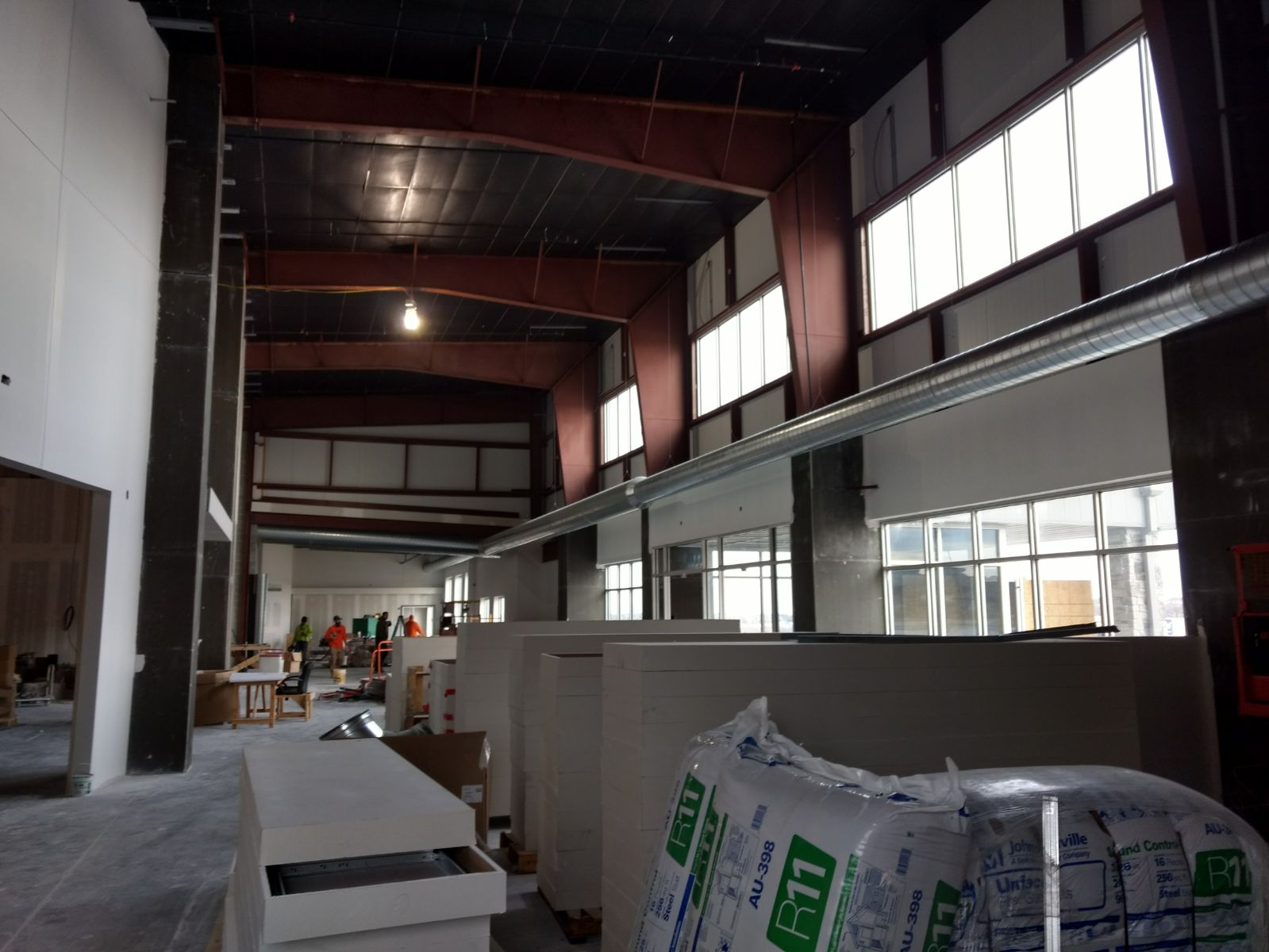 HVAC Project at Water's Edge Church in Omaha - New Construction