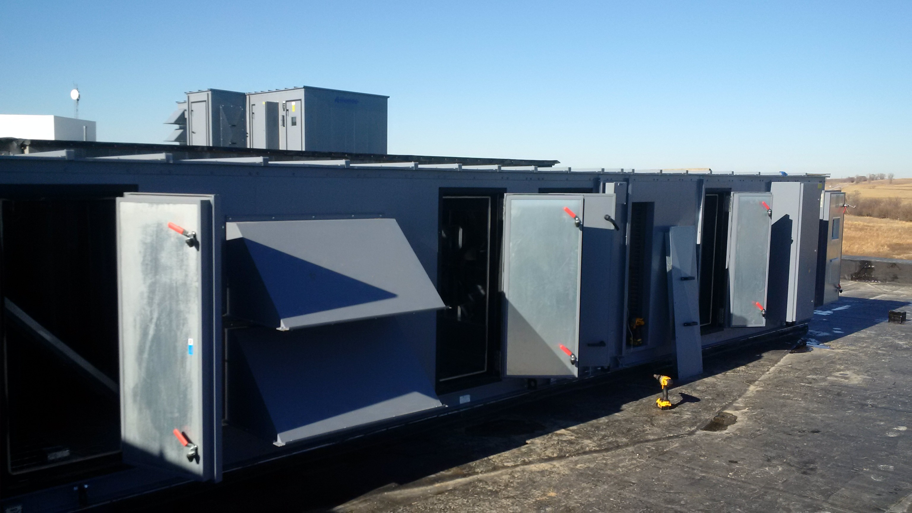 Bennington High School Alliance Air Rooftop Units