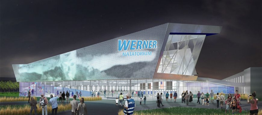 Werner Natatorium - part of the large multi-sport complex planned for Omaha