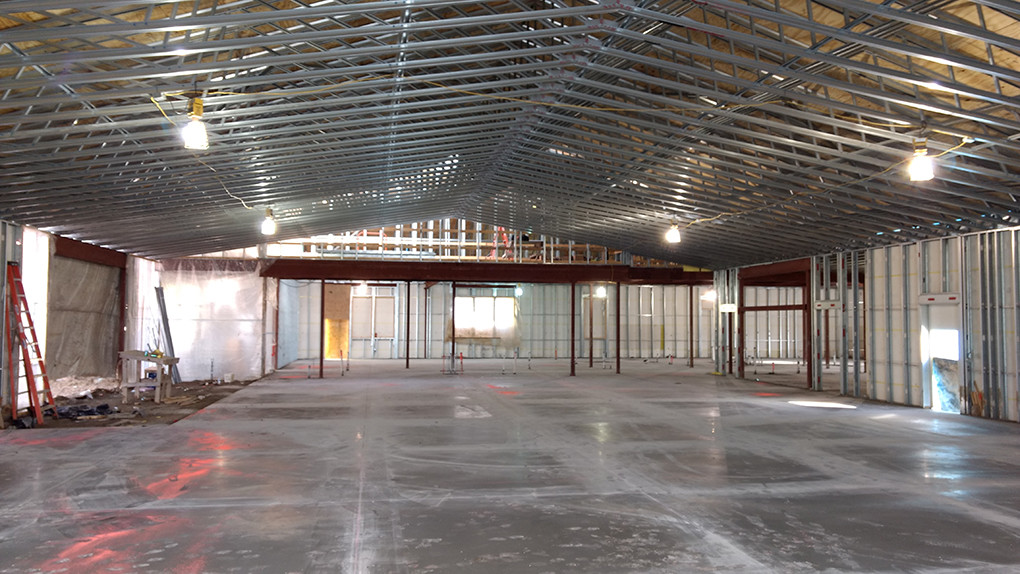 St Patrick's Church in Council Bluffs - HVAC in new construction