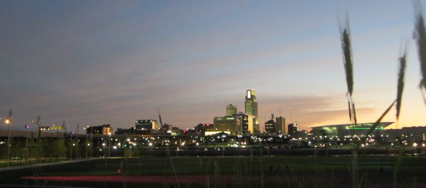 Omaha's downtown skyline