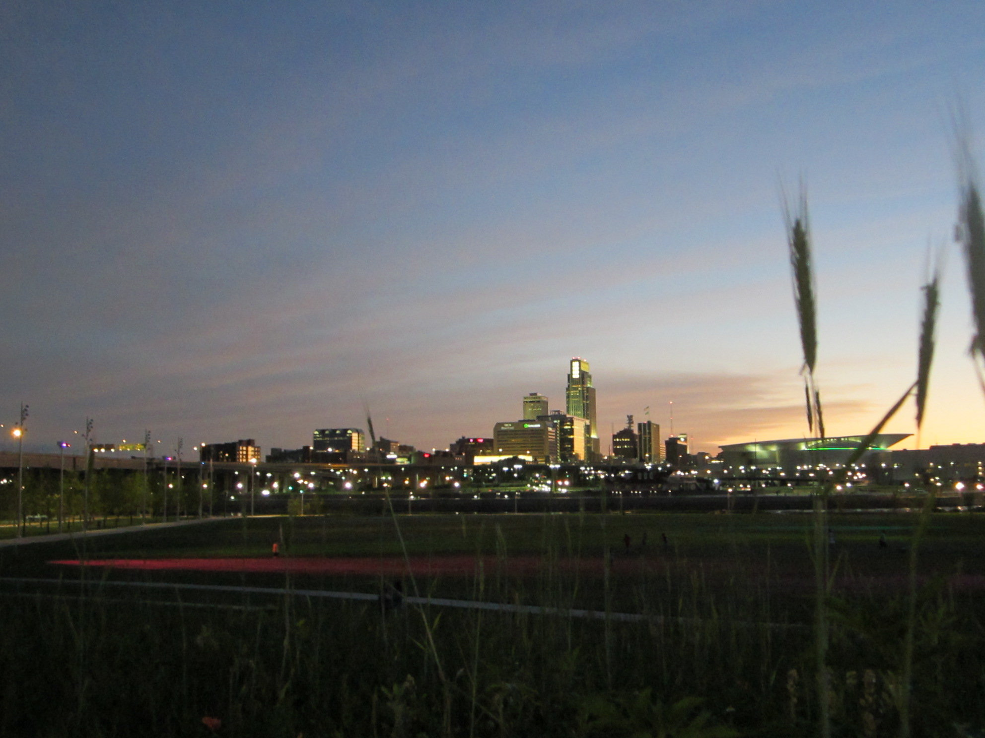 Omaha's downtown skyline