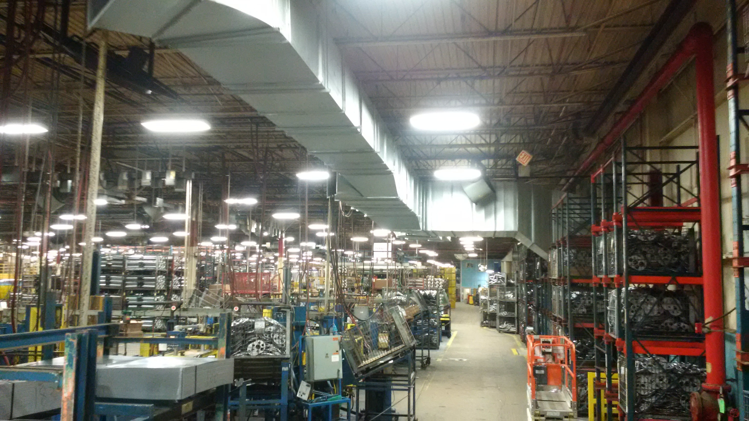 Tenneco Seward Plant Make Up Air Project