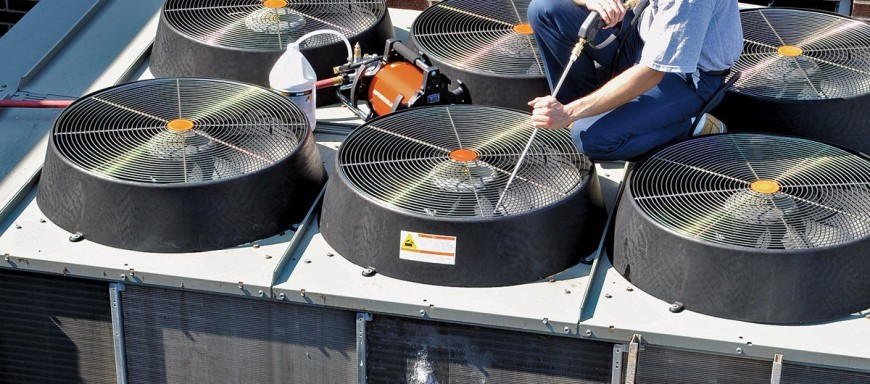 Cleaning prevents coil corrosion and loss of efficiency