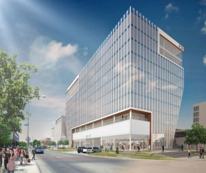 HDR's proposed new headquarters in Aksarben Village, Omaha