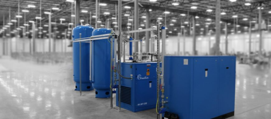 Welcoming Industrial Air Compressors