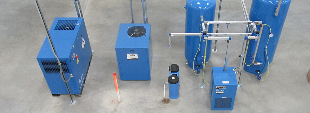 Compressed air treatment - dryers and filtration