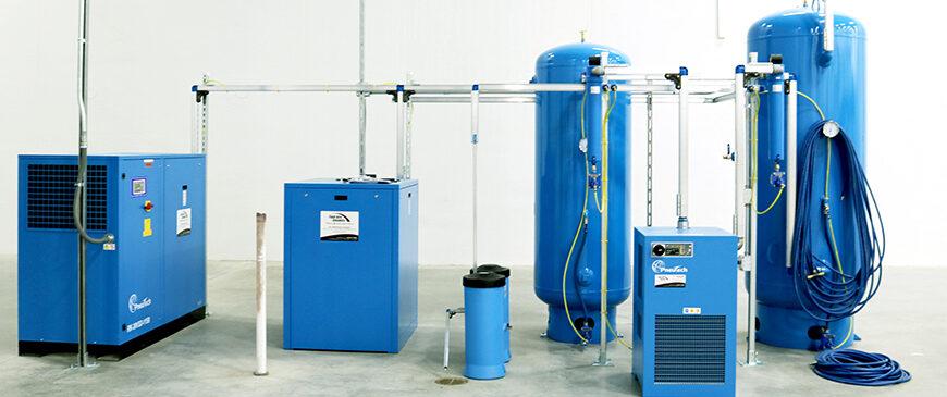 Air Compressor Accessories Installed